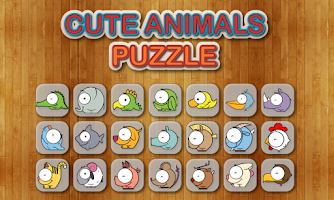 Screenshot of Cute Animals Puzzle