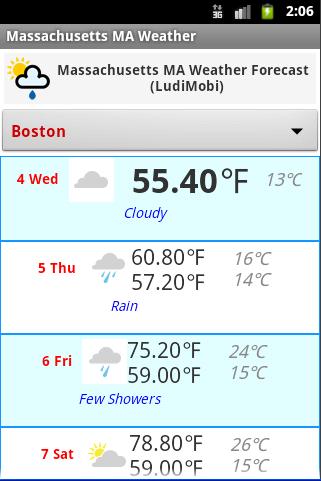 【免費天氣App】Massachusetts MA Weather-APP點子