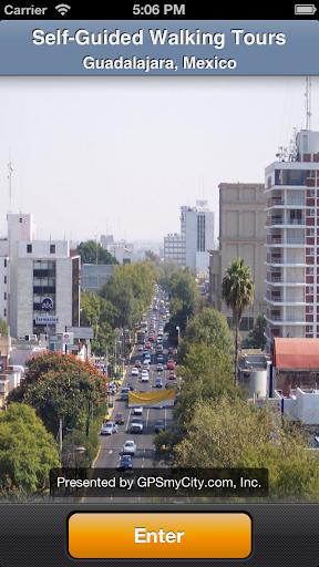 Guadalajara Map and Walks