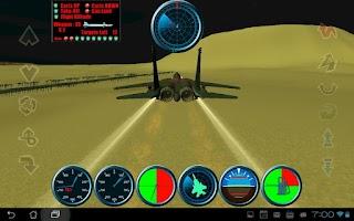 Screenshot of F15 Flying Battle FREE