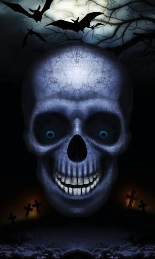 Laughing Skull Live Wallpaper