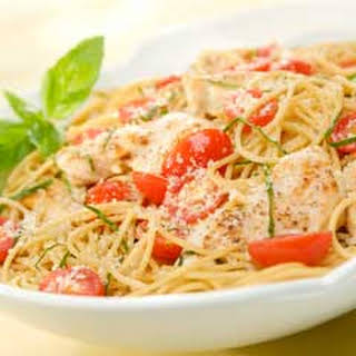 Summer Chicken Pasta Recipes.