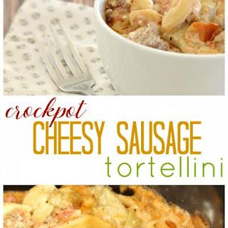 Crockpot Sausage Tortellini.
