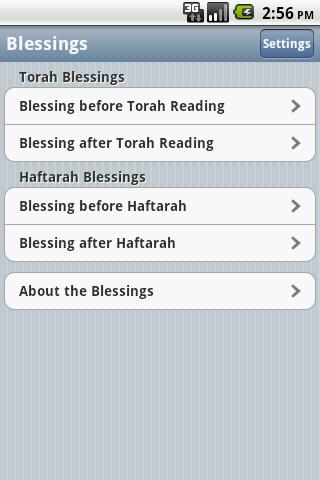iBless Torah- screenshot