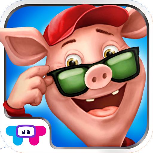 Three Little Pigs LOGO-APP點子