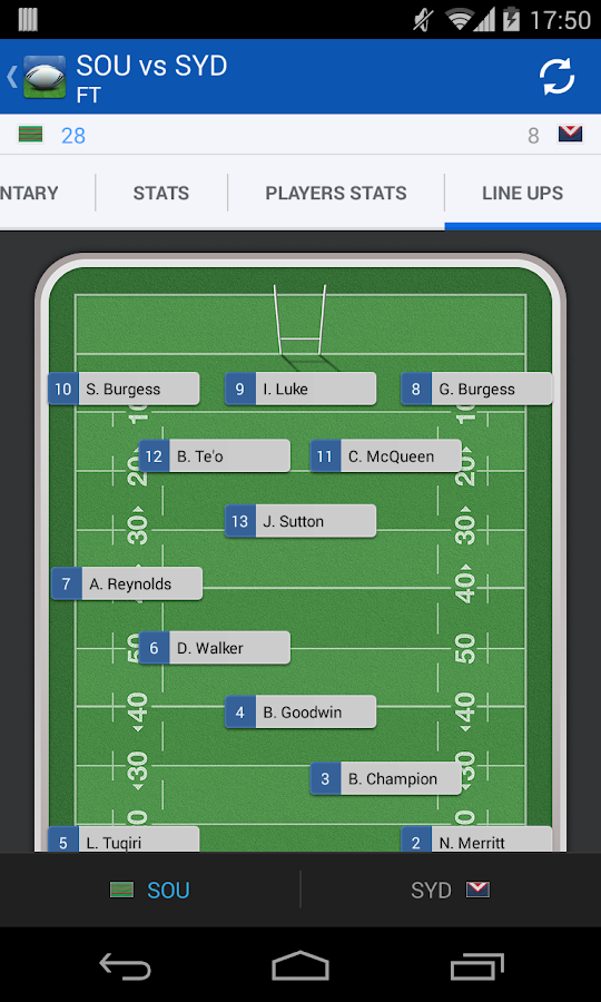 NRL - League Live - screenshot