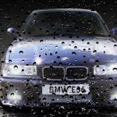 BMW E36 Drop Live Wallpaper