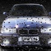 BMW E36 Drop Live Wallpaper