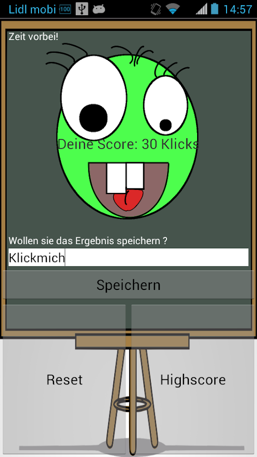 ClickMe!- screenshot