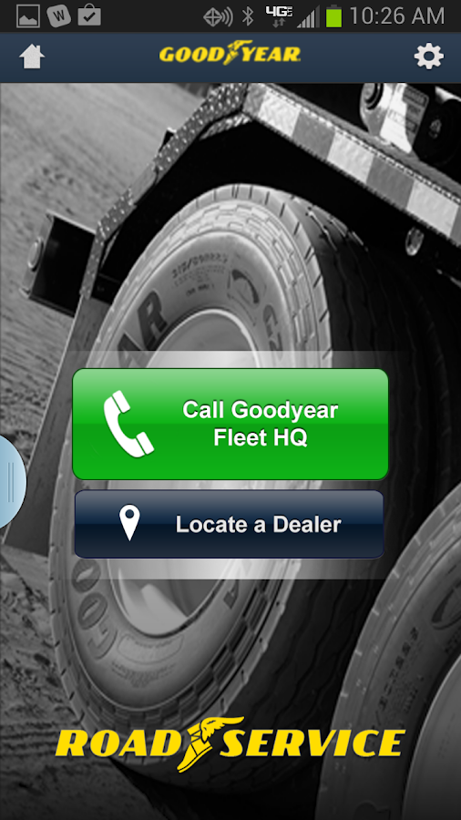 Goodyear RoadService - screenshot