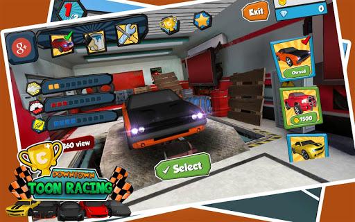 Downtown Car Toon Racing