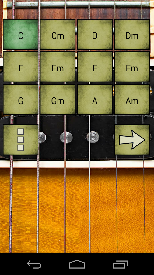 Virtual Electric Guitar - screenshot