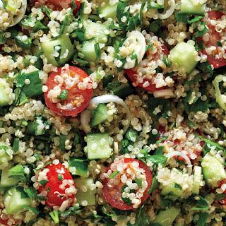Quinoa Tabbouleh.