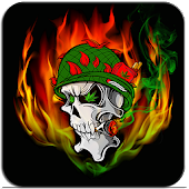 Skull Soldier Weed Magic FX