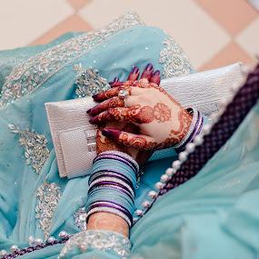 Farrukh Saleem Photography by Farrukh Saleem - Wedding Bride ( pakistan, wedding photography, hands, karachi, rings, female wedding photographer karachi, bride, tattoo )