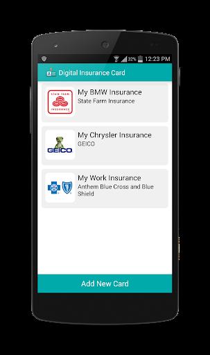 Digital Insurance Card