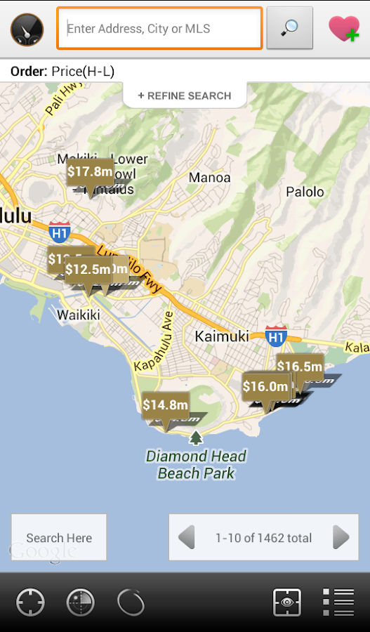 Kahala Associates Real Estate - screenshot