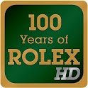 100 Years of Rolex icon