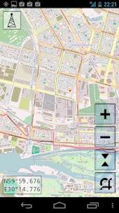 MapNav – миниизображение на екранната снимка
