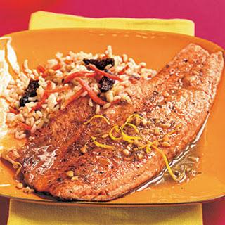 Pan-Seared Tarragon Trout