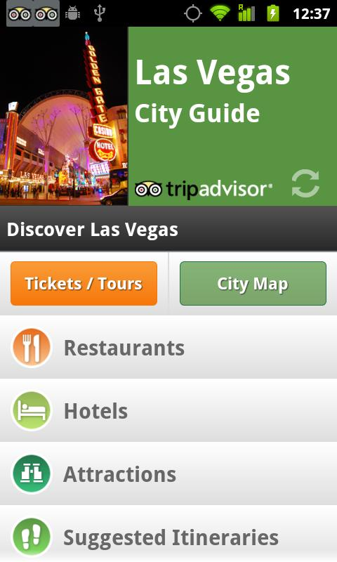 Las Vegas City Guide - screenshot