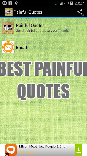Painful Quotes Mania