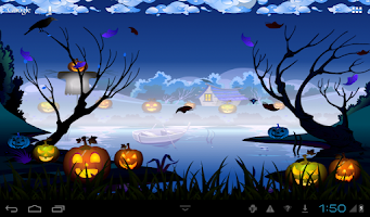 Screenshot of Halloween Live Wallpaper