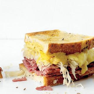 Deli Reuben Sandwich.