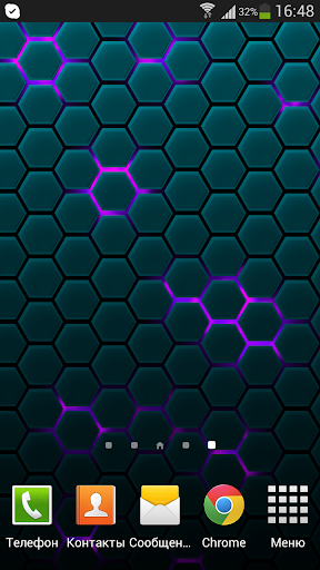 Honeycomb Live Wallpaper screenshot