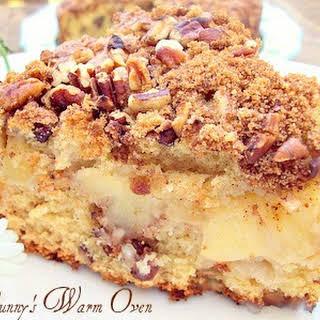 Apple Nut Sour Cream Coffee Cake.