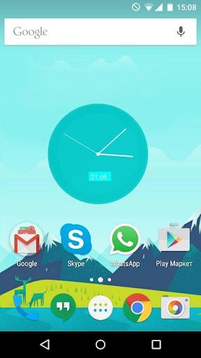 Material Clocks Live Wallpaper