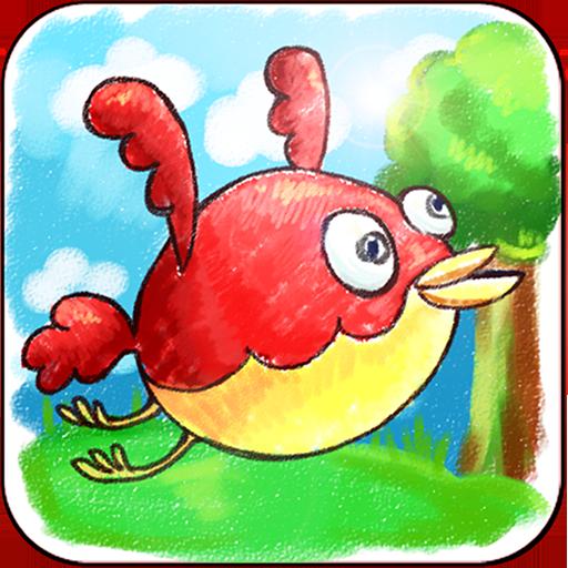压扁小鸟 LOGO-APP點子