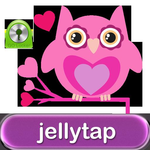 Cute Love Owls Theme Go Locker 個人化 App LOGO-APP開箱王