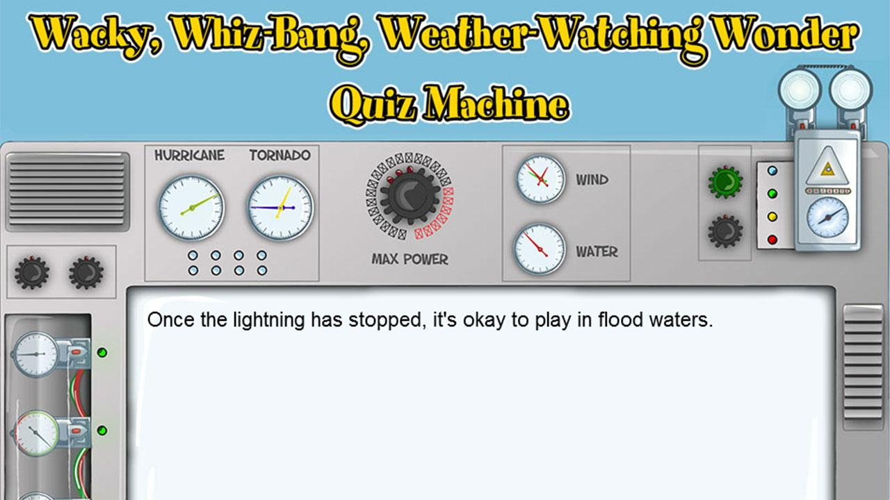 KGAP Wacky Weather Wonder Quiz- screenshot