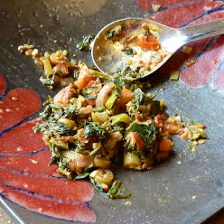 Indian-style Mustard Greens.