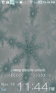 Winter Snowflake Theme Live- screenshot thumbnail