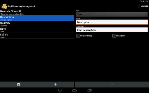 【免費商業App】Rapid Inventory, Business-APP點子