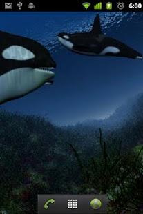 Orca Whale  live wallpaper - screenshot thumbnail
