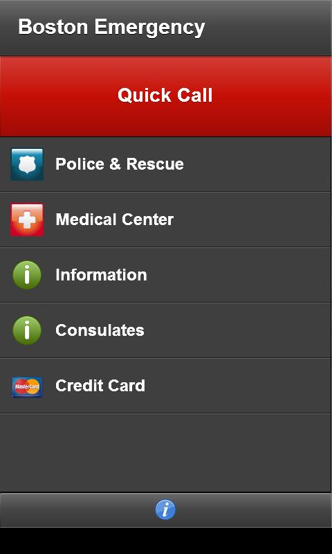 Boston Emergency- screenshot
