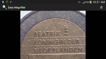 Screenshot of Easy Magnifier