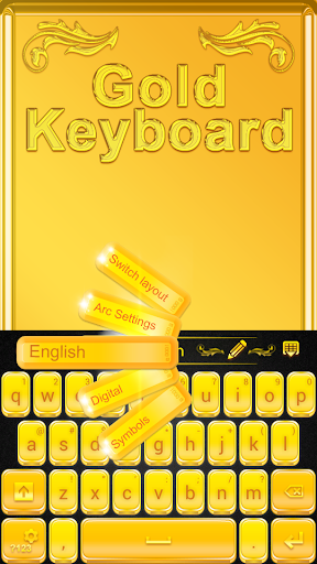 GO Keyboard Gold