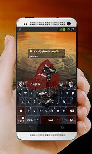 未來光 GO Keyboard Theme