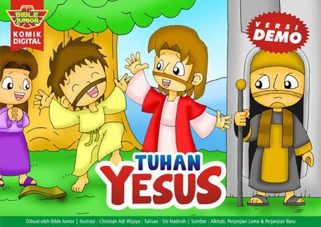 Komik Alkitab: TUHAN YESUS