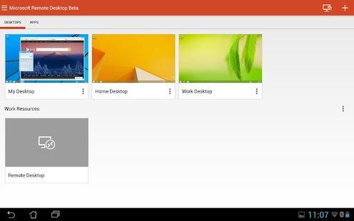 Microsoft Remote Desktop Beta Screenshot 6