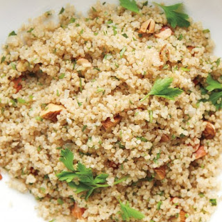 Quinoa and Almond Pilaf