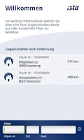 Screenshot of ista EDM mobil