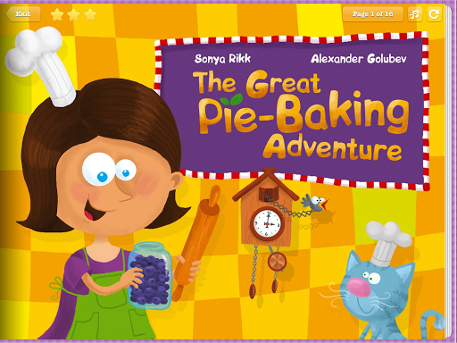 Pie Baking- Storybook for Kids