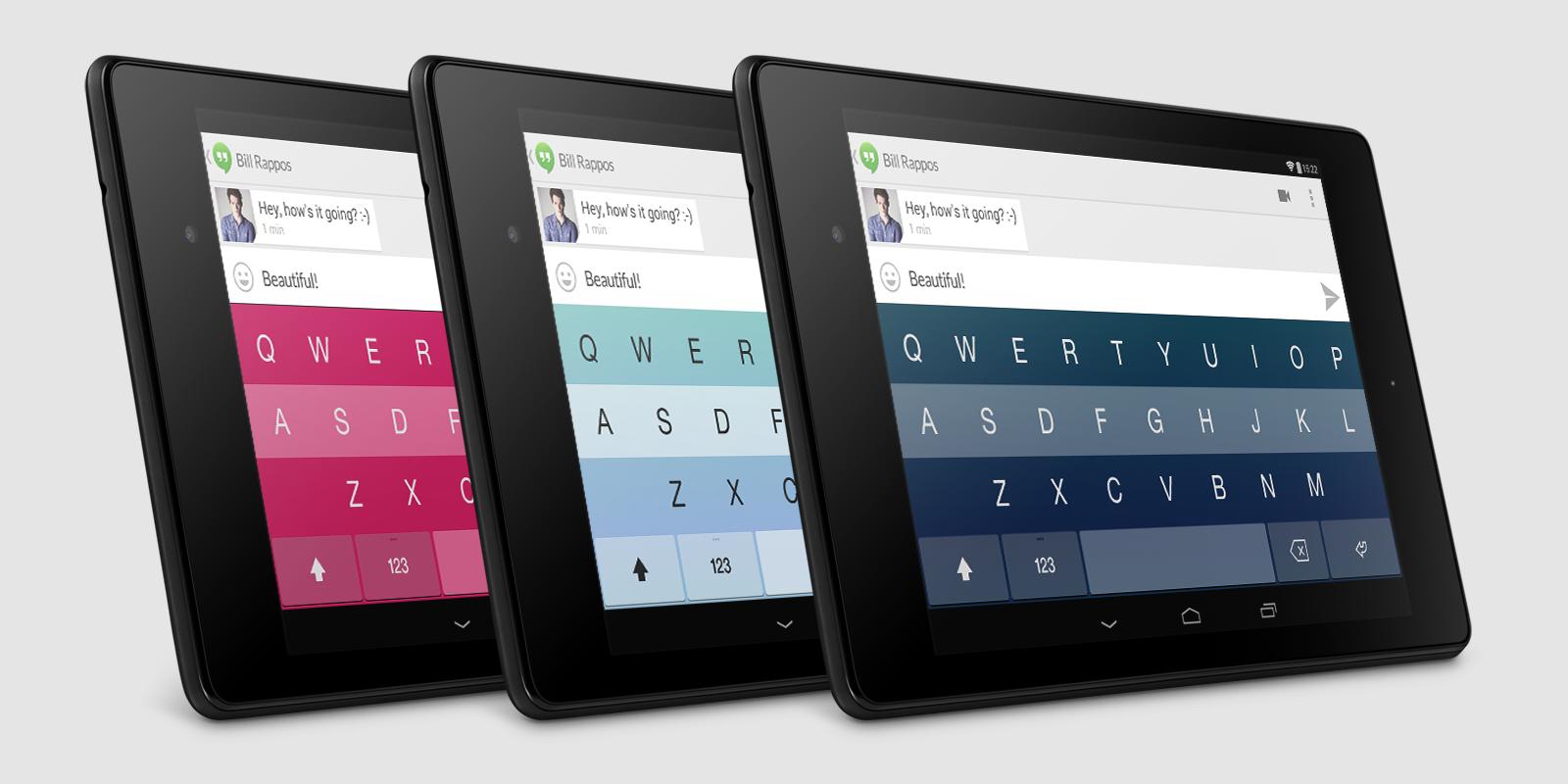 Fleksy Keyboard + Emoji - screenshot