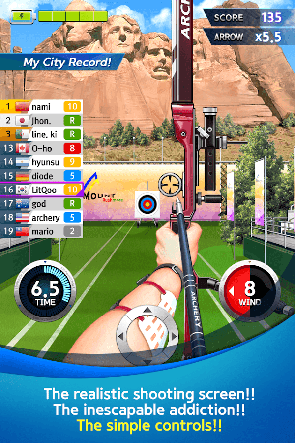 ArcherWorldCup - Archery game - screenshot