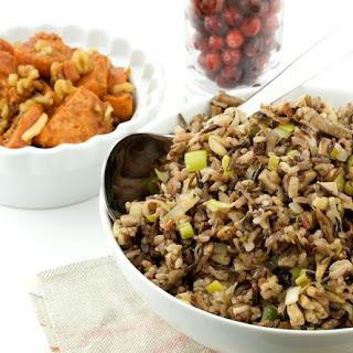 Leek and Mushroom Wild Rice